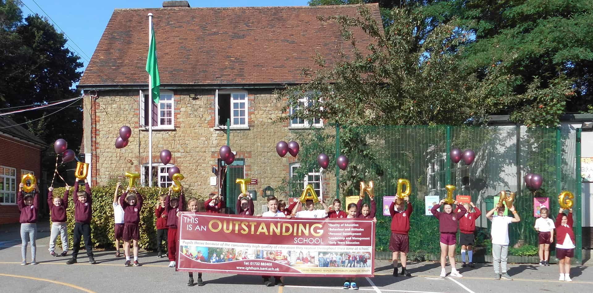 Ightham Primary Outstanding